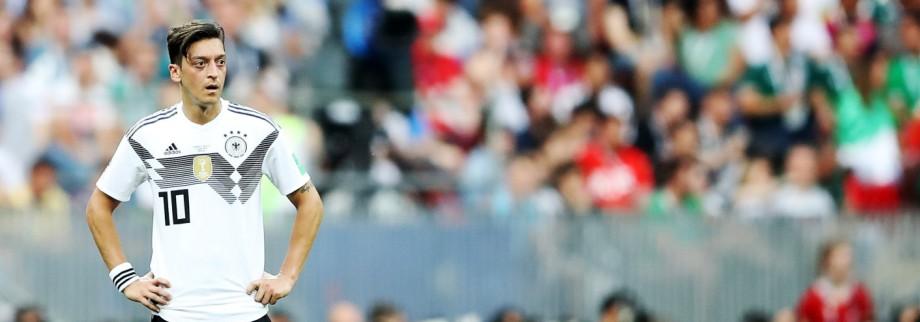 Mesut Özil beim WM-Spiel 2018 gegen Mexiko