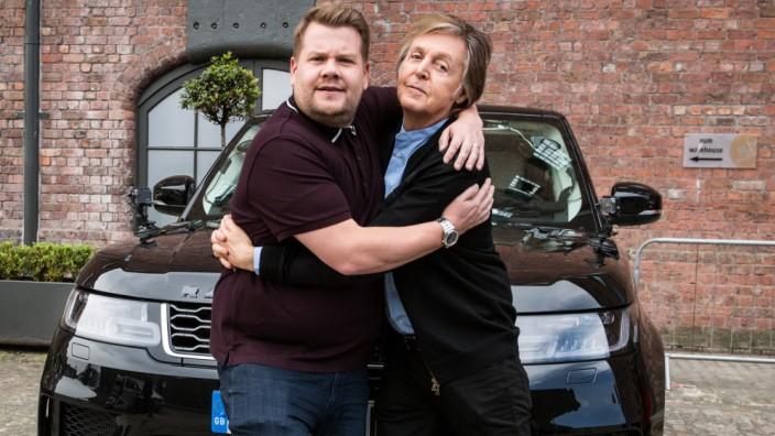 Paul McCartney führt James Corden im Auto durch Liverpool