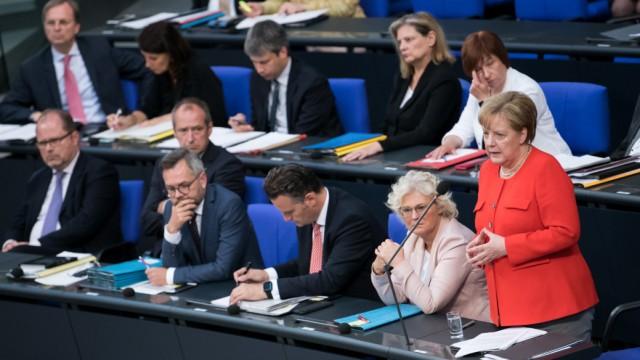 Bundesregierung 100 Tage Große Koalition