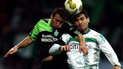 Europapokal Uefa-Pokal: Bremen - Saint-Etienne