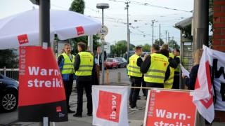 Warnstreik im Öffentlichen Nahverkehr in München, 2018