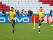 World Cup - Colombia Training