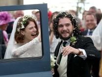 Game of Thrones Jon Snow Ygritte Kit Harrington Rose Leslie