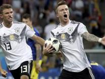 Marco Reus im WM-Spiel gegen Schweden