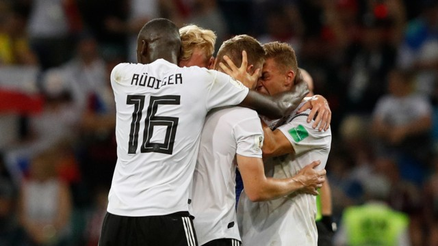 Fußball-WM SZ-Liveticker zu Deutschland vs Schweden