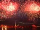 Sankt Petersburg: Glanz und Leuchten bei großem Feuerwerk (Vorschaubild)