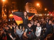 WM 2018 - Public Viewing - Fans feiern in München