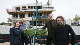 Richtfest Kinderhaus Garching unter der Trägerschaft der Diakonie Jugendhilfe Oberbayern, Untere Straßäcker 19