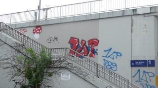 Graffitiserie in Germering