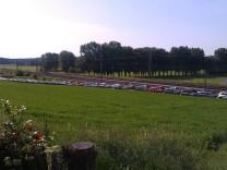 Parkraumsituation am Bahnhof Geltendorf: