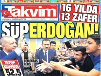 Presseschau Erdogan Wahlsieg Präsidentenwahl