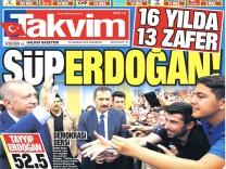 Türkei-Wahl: Presseschau zu Erdogans Wahlsieg
