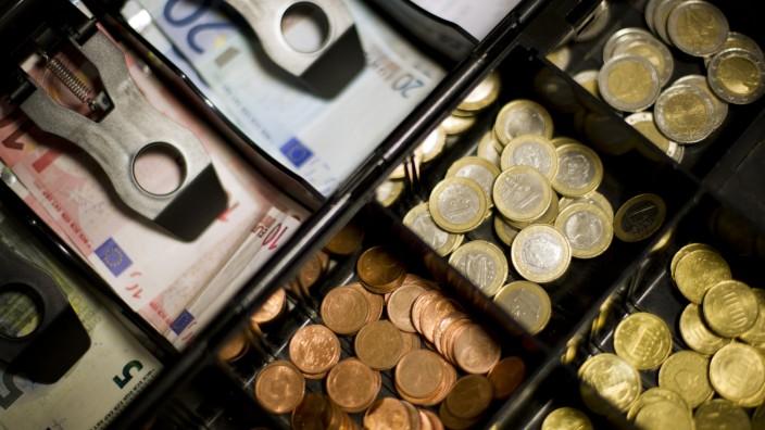 Bargeld in der Kasse