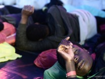 """Flüchtlinge auf Rettungsschiff ´Aquarius"""""""