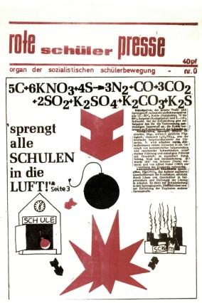 """Pressefotos; Pressefotos zur   © Museum für Kommunikation Frankfurt; Pressefotos; Pressefotos zur Ausstellung """"Klassen-Kämpfe. Schülerproteste 1968 - 1972""""  © Museum für Kommunikation Frankfurt"""