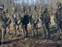 Werbung um Arbeitnehmer bei der Bundeswehr