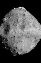 Asteroid Ryugu photographed by the ONC-T on June 24, 2018 at around 00:01 JST.