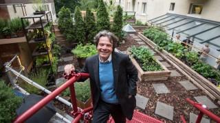 Der Münchner Gastronom Michael Käfer