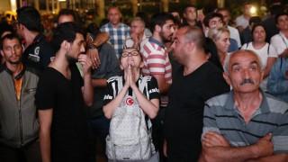 Anhänger von Muharrem İnce am Wahlabend