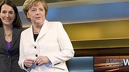 Merkel bei Anne Will
