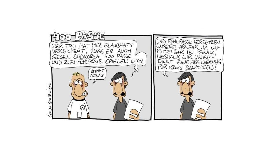 Die Fussballgotter Der Sz Comic Zur Fussball Wm Sport