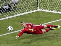 Manuel Neuer im WM-Spiel gegen Schweden