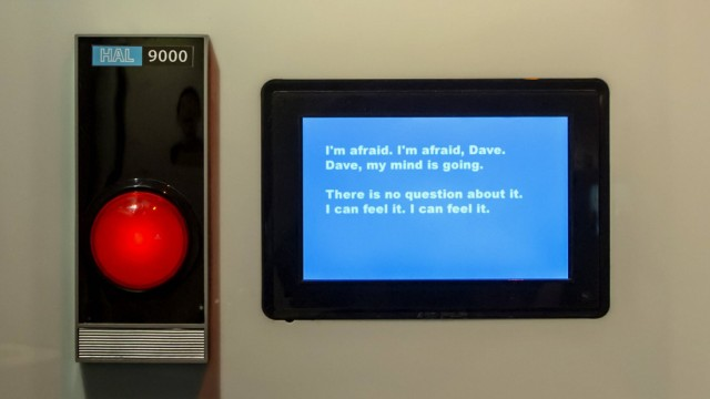 July 11 2016 Pittsburgh Pennsylvania U S HAL 9000 is one of seven robots on display in the R