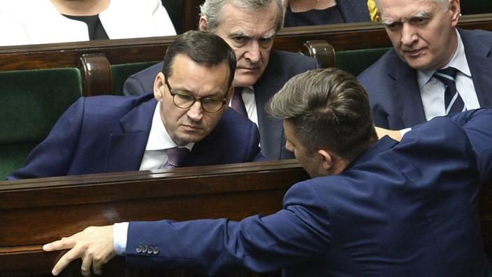 Mateusz Morawiecki, Piotr Glinski, Jaroslaw Gowin