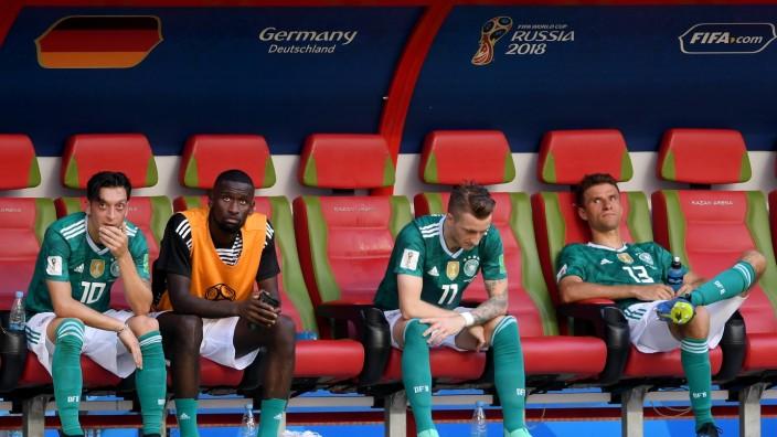 DFB-Nationalspieler nach dem WM-Aus gegen Südkorea