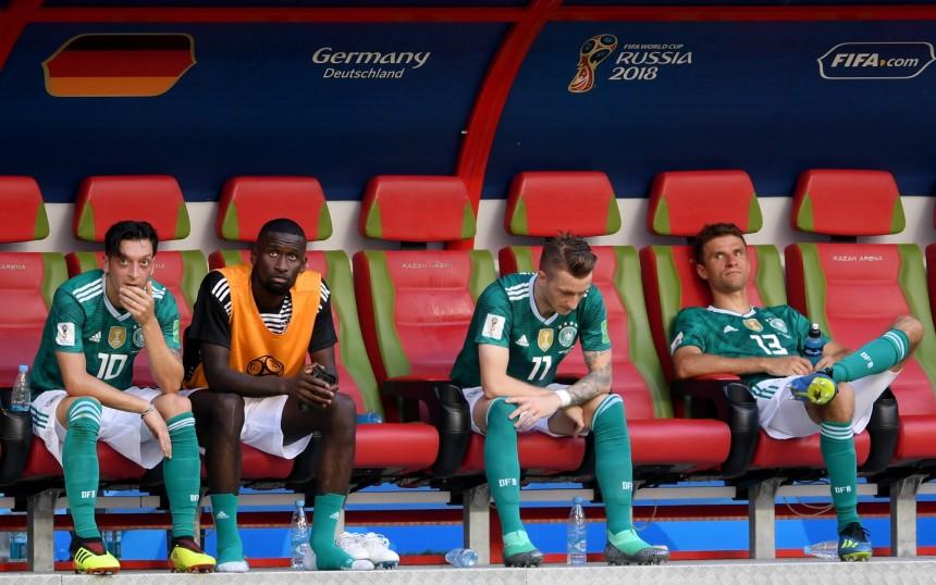Deutschland Scheitert Bei Fußball Wm Sport Süddeutschede