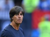 Bundestrainer Jogi Löw nach dem WM-Spiel 2018 gegen Südkorea