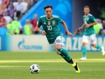Mesut Özil im WM-Spiel 2018 gegen Südkorea