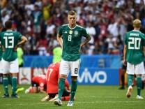 Nationalspieler Toni Kroos nach dem Vorrunden-Aus gegen Südkorea bei der WM 2018.
