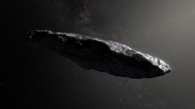 "Komet ´Oumuamua"""