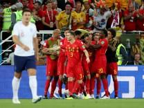 World Cup - Group G - England vs Belgium