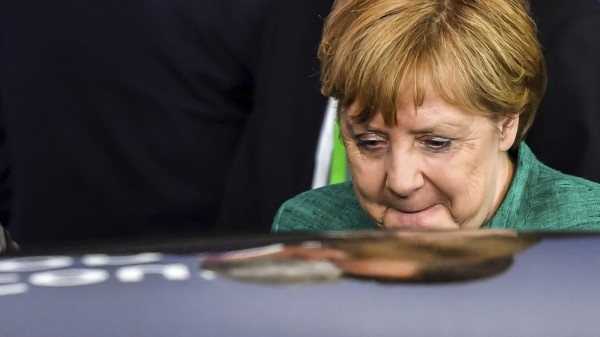 Angela Merkel beim EU-Gipfel 2018 in Brüssel