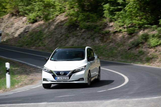Nissan Leaf, Copyright Nissan, Onlinerechte frei