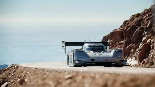 Pikes Peak Rekordversuch mit einem VW Elektro-Rennwagen (24.06.18)