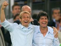 WM 2018 - WM 2006 - Klinsmann und Löw jubeln