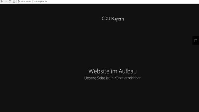 Politik in München Mysteriöse Internetseite
