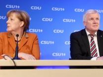 Spitzentreffen von CDU und CSU