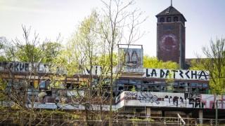Potsdam Brauhausberg Ruine ehemaliges Restaurant Minsk vor dem öKreml~ Potsdam *** Potsdam Brauhau