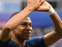 France v Argentina: Round of 16 - 2018 FIFA World Cup Russia; mbappe+jetzt