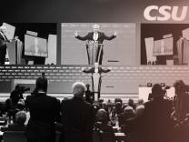 Beginn CSU-Parteitag