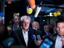 Asylstreit - Sondersitzung CSU-Vorstand Horst Seehofer