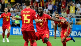 Fußball-WM Belgien im Viertelfinale