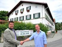 Unterbrunn Wiedereröffnung Gasthof Böck