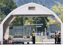 Deutschland Grenzkontrolle Kiefersfelden