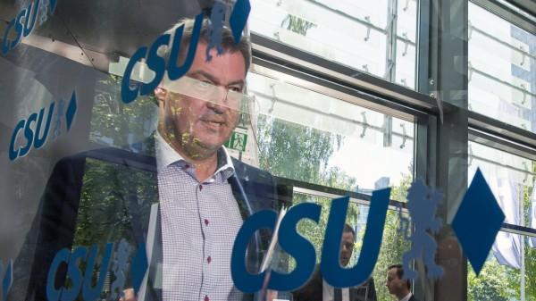 Sondersitzung CSU-Vorstand