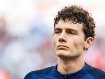 Benjamin Pavard bei der WM 2018 in Russland